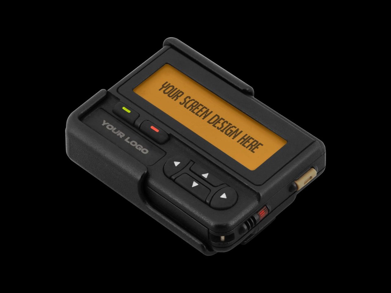 Retro Pager Mockup - Product Image 2