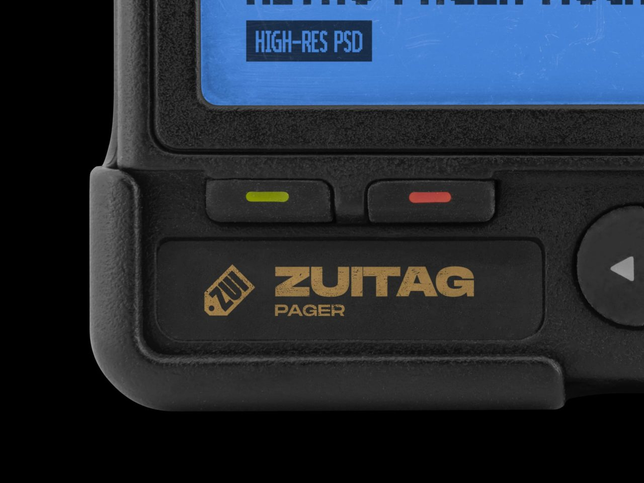 Retro Pager Mockup - Product Image 3